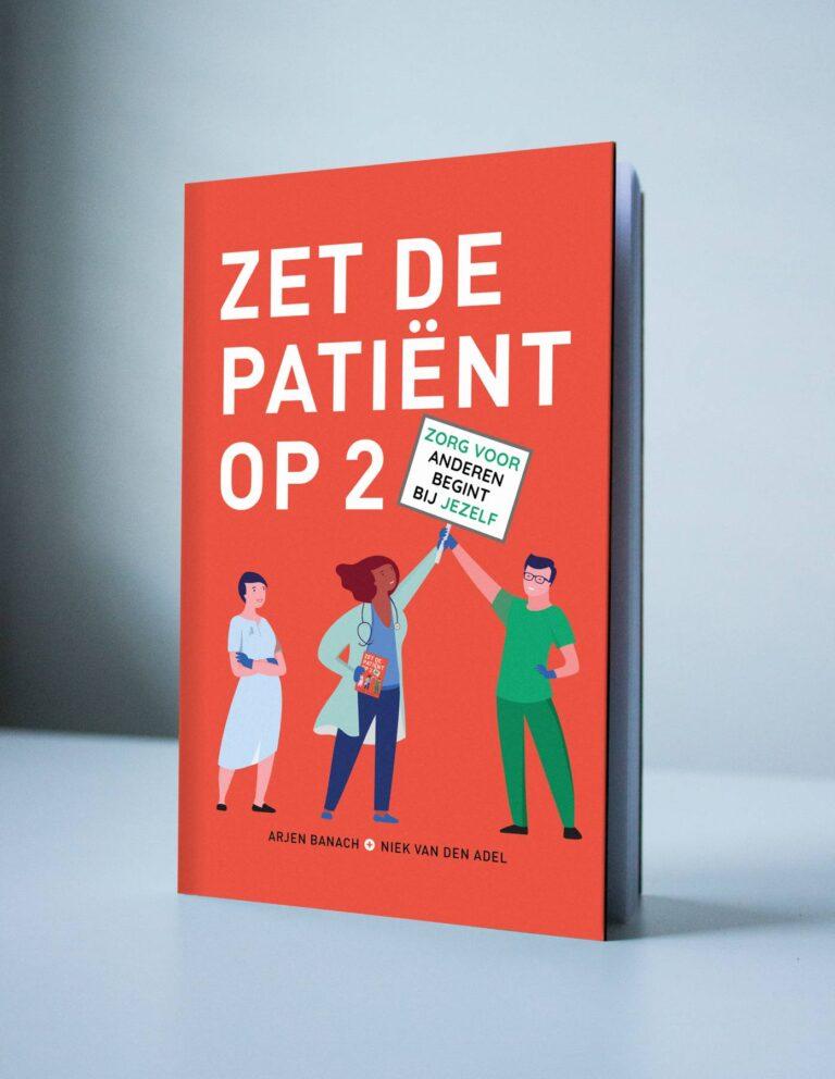 Gedrukt exemplaar zet de patiënt op twee